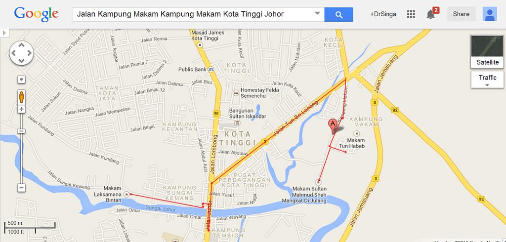 Jalan Kampung Makam Kampung Makam Kota Tinggi Johor   Google Maps
